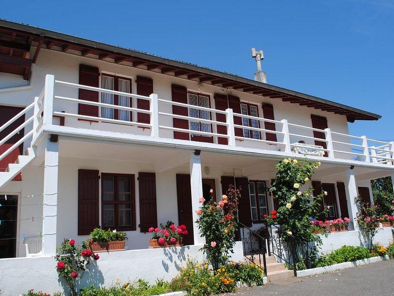 Appartement 6 pers. quartier calme Guéthary, alquiler vacacional en Guéthary (Getaria)