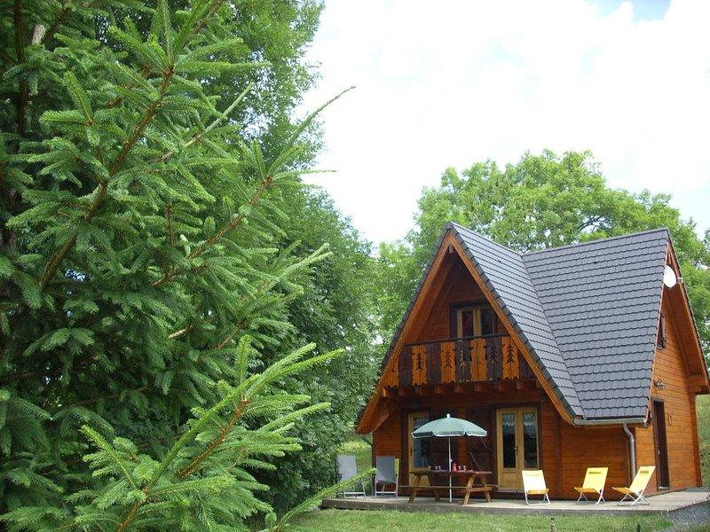 CHALET BOIS + SPA 'Les Ecureuils' N°3 (4 etoiles) LE MONT DORE / VUE MONTAGNES, holiday rental in Le Mont-Dore