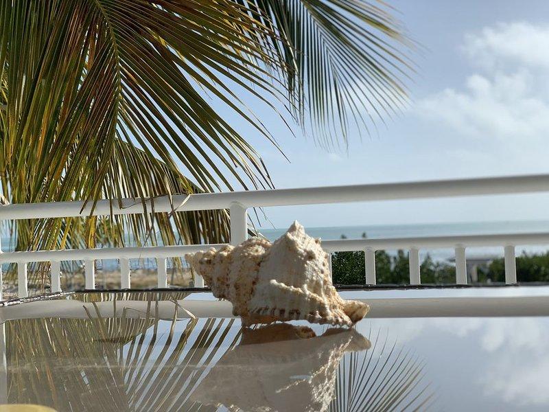 Christmas Special **Waterfront/Ocean views, 3 Bedroom, 3 Bath, heated pool Home, casa vacanza a Grassy Key