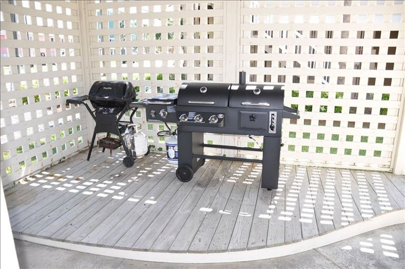 Grill area.