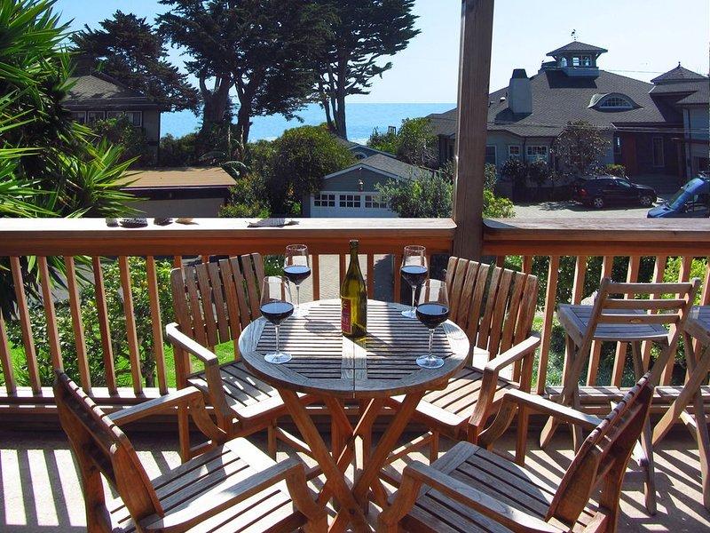 Winter Price Break! Lovely get-a-way. Ocean view, Dream Home, Steps to beach, vacation rental in Carpinteria