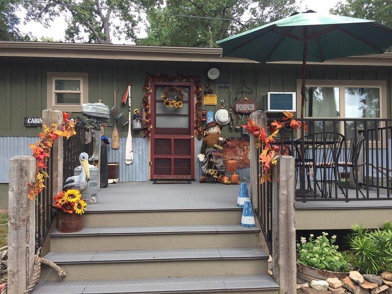 Front Entrance/Deck