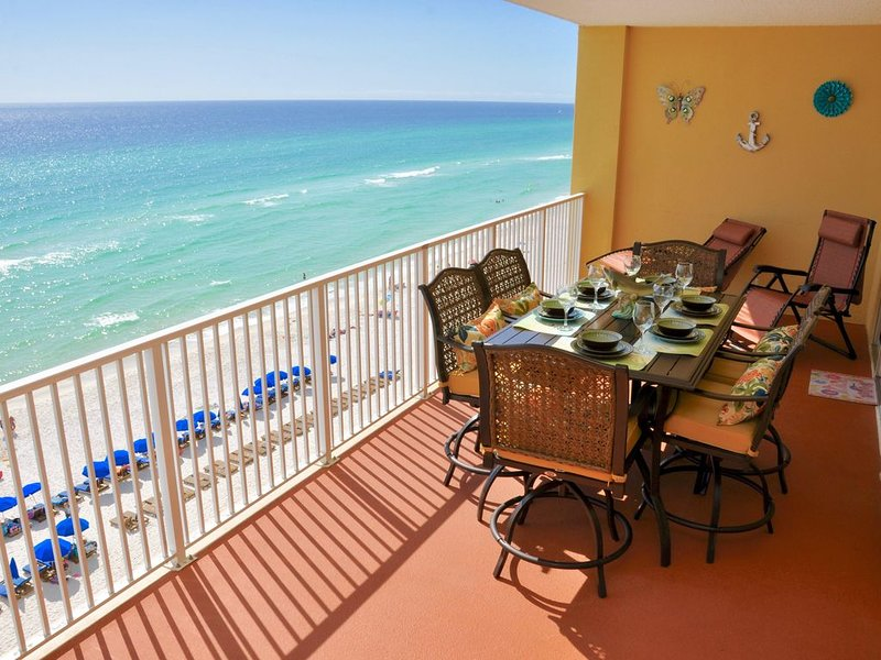 ALL FIVE STAR RATINGS!! LOWEST PRICE FOR THE CLEANEST BEACHFRONT LUXURY AND MORE, alquiler de vacaciones en Panama City Beach