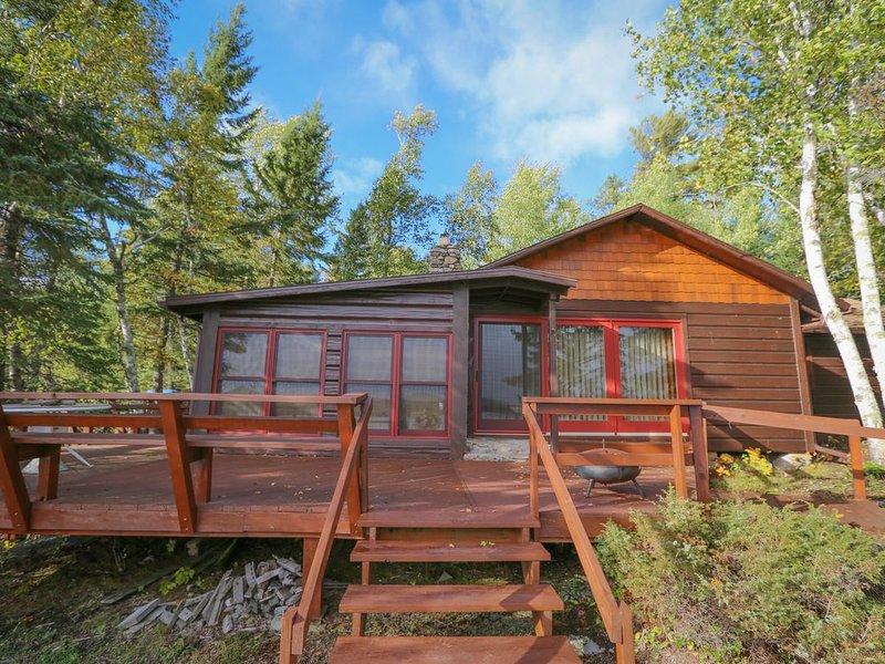 Lakeview Hideaway - Bear Island Cabin, alquiler vacacional en Crane Lake