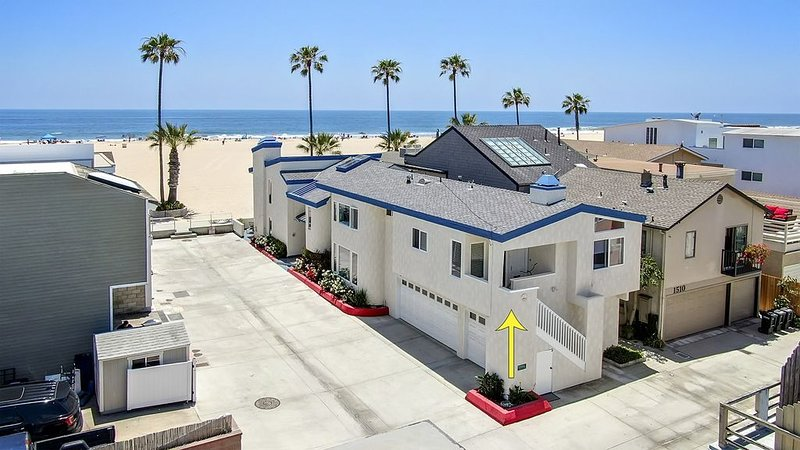 1508 W Oceanfront - THE BACK HOUSE OF OUR OCEANFRONT HOME, vacation rental in Newport Beach
