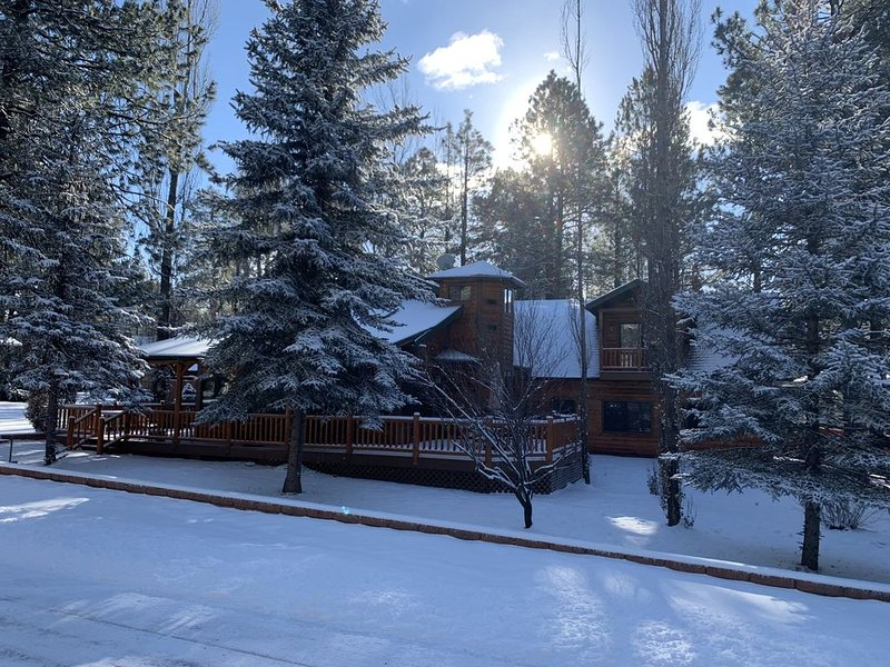 Spacious Munds Park Lazy Bear Cabin, Sleeps 13, Game Room, Family Friendly!, holiday rental in Munds Park
