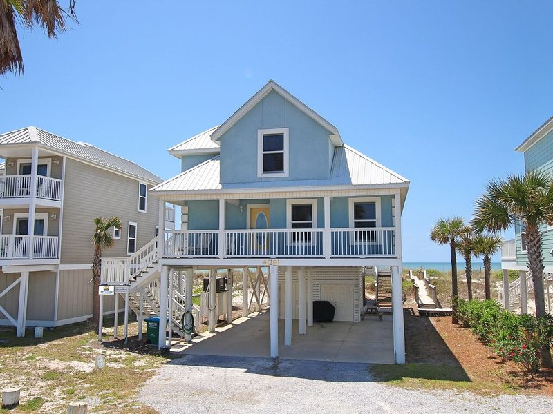 Gulf-front with beautiful views, large sunning deck, alquiler de vacaciones en Cape San Blas