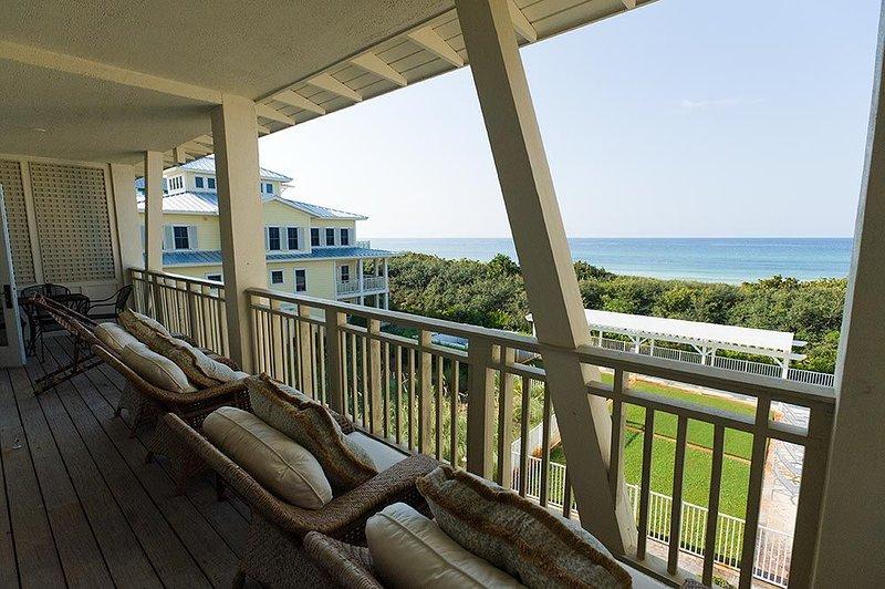 'Beachside #17' Balcony with Gulf Views