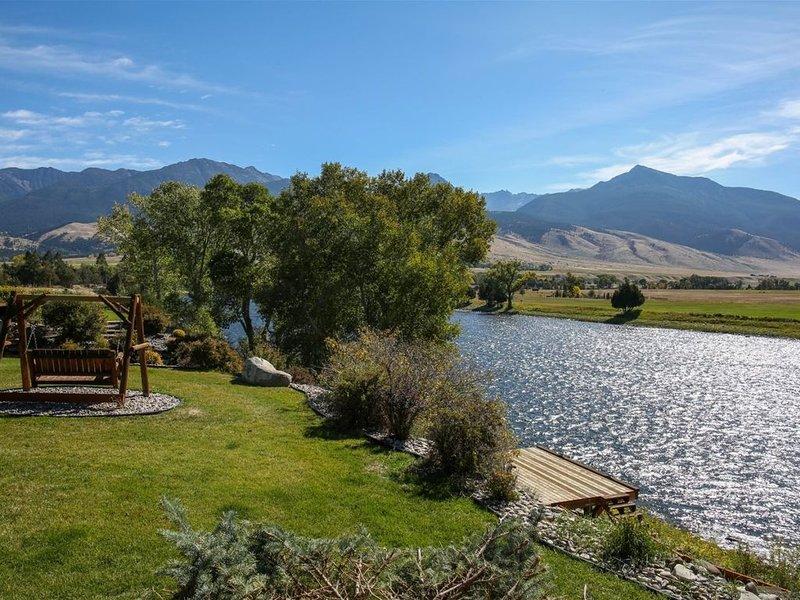 PV/Livingston - Yellowstone River Retreat, location de vacances à Prier