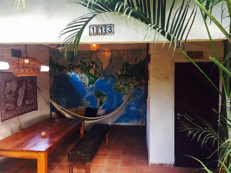 Casa Zen Tropical avec jardin extérieur - un paradis pour les kiters !, alquiler de vacaciones en Touros