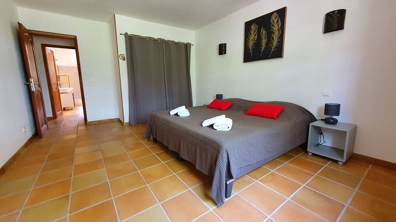 Bedroom 1 consists of 2 single beds. The 2 beds can be joined together.