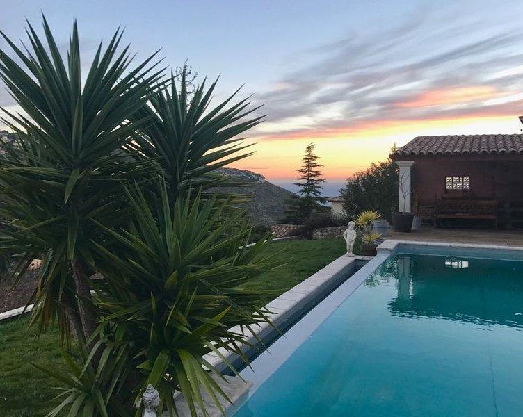 Sur les toits de Monaco, holiday rental in La Turbie