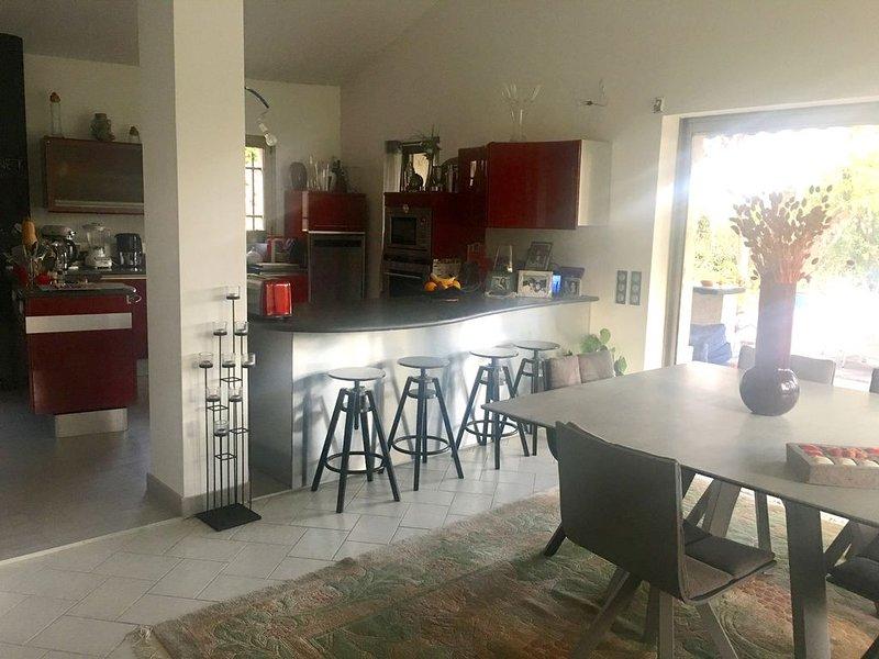 Très belle villa au calme absolu idéale pour des vacances reposantes, Ferienwohnung in Biot