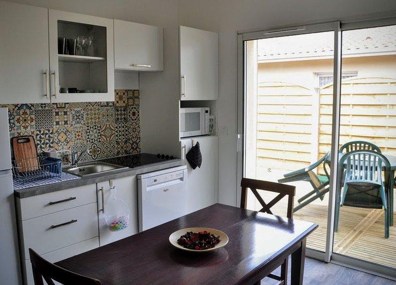 La Hume Maison 2 pièces 4 personnes, vacation rental in Gujan-Mestras