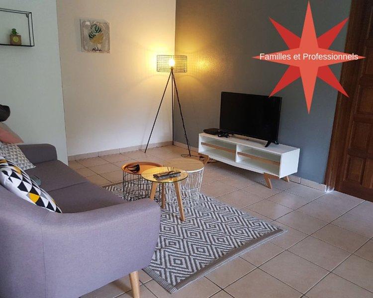 ★La Maison sur la Côte★Jusqu'à 4 personnes, location de vacances à Arrondissement of Cayenne