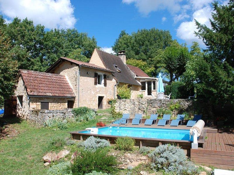 MAISON DE CHARME AU COEUR DU PERIGORD NOIR, holiday rental in Vitrac