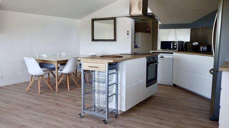 appartement terrasse, holiday rental in Vendays Montalivet