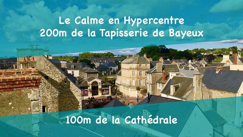 Coeur de ville de Bayeux - Ancienne Tannerie, location de vacances à Monceaux-en-Bessin