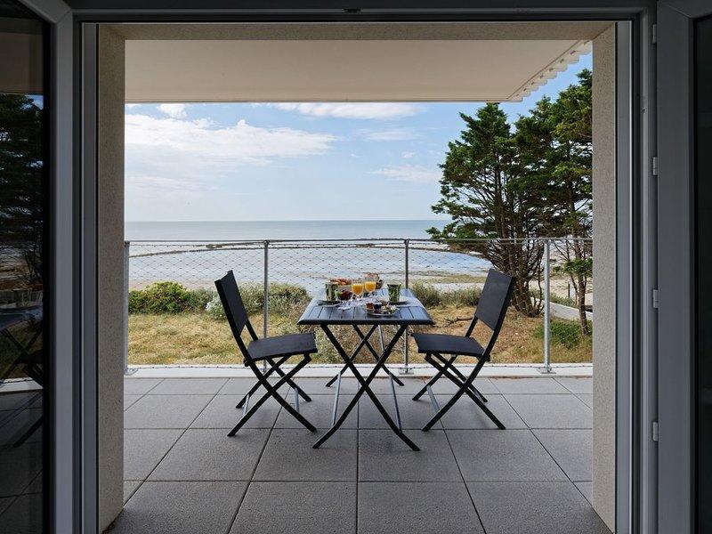 Superbe appartement neuf face plage sur l'île de Noirmoutier, vacation rental in La Gueriniere