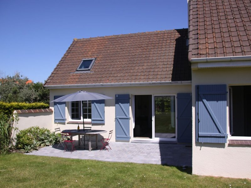 Charmante maison dans clos proche de la mer à Hardelot plage  pour 8 pers., holiday rental in Neufchatel-Hardelot