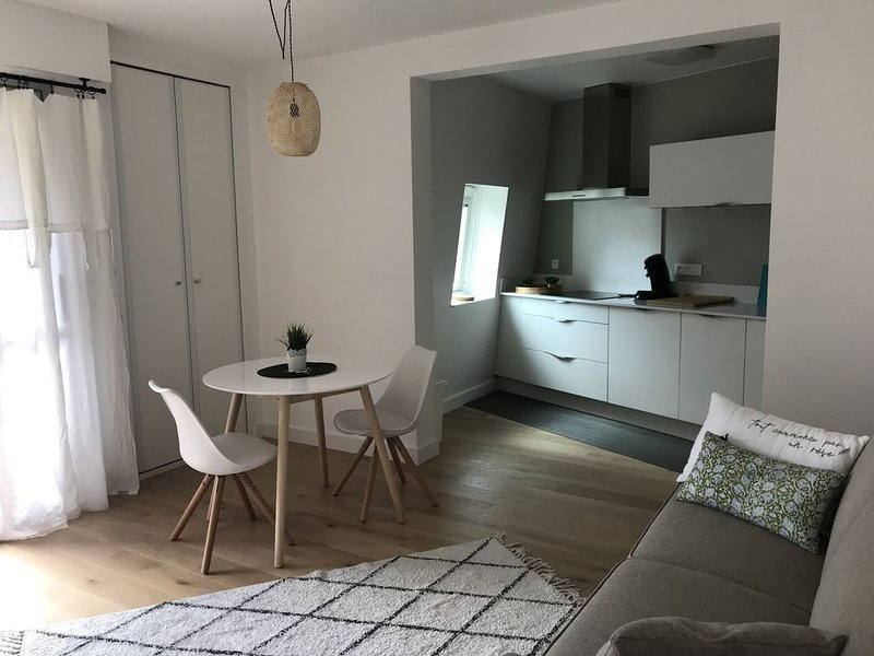 Studio cosy, bord de plage, au calme., holiday rental in Benodet