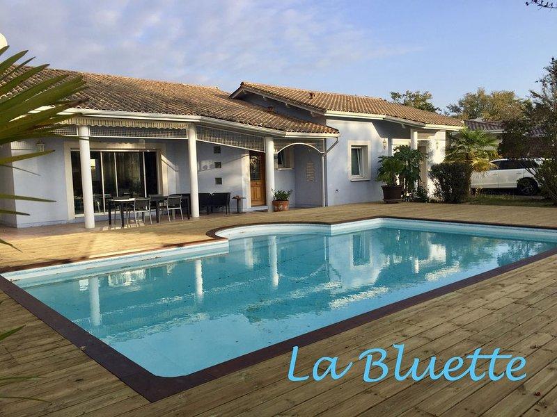 *Au coeur du bassin d'Arcachon* Bienvenue à la BLUETTE*, vacation rental in Lanton