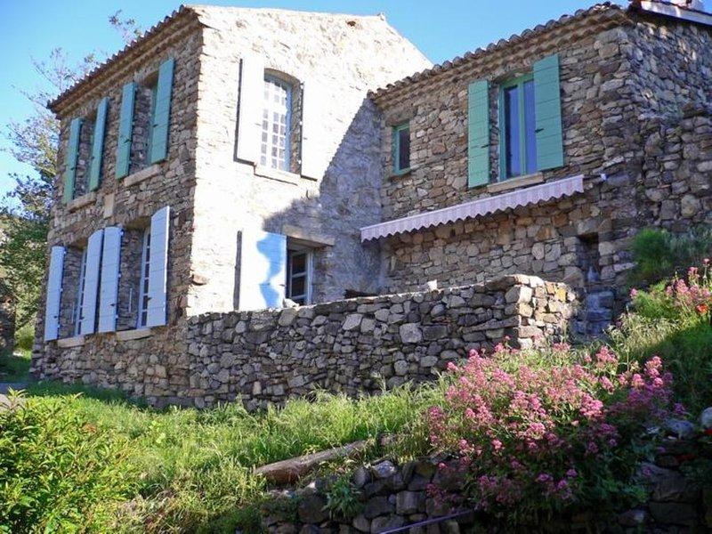 Maison de village en pierre au coeur de la réserve géologique  1, vacation rental in Saint Andre Les Alpes
