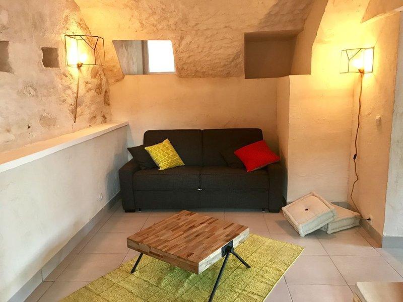 ANCIENNE BERGERIE idéalement située, entre mer (5 mn)  et maquis, holiday rental in Canale-di-Verde