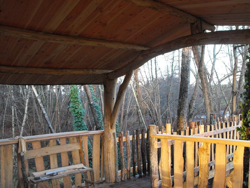 Cabane dans les arbres, holiday rental in Saint-Gor