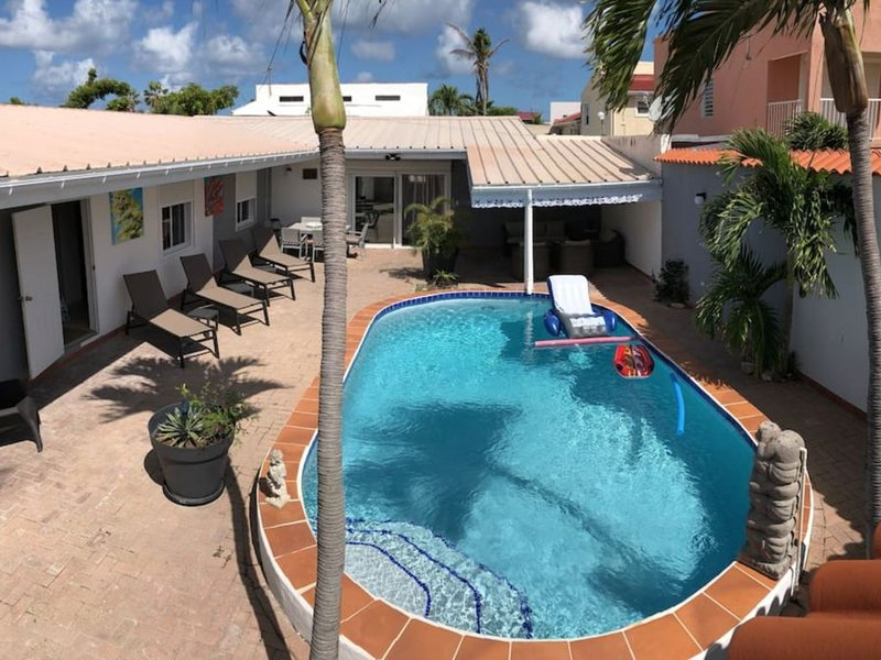 VILLA 'THE ART OF HOUSE' - 3 BED - POOL, vacation rental in Maho