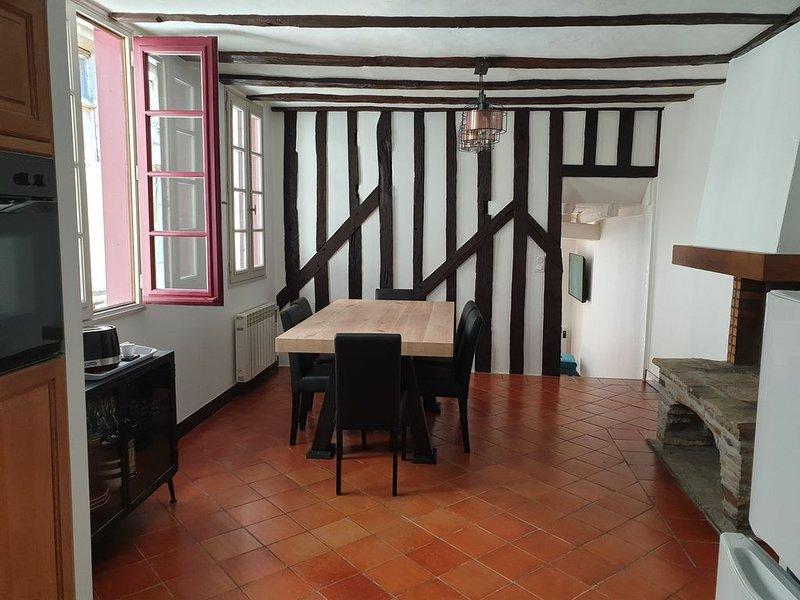 L'Appart - 70 m2 - centre historique de Vitré, vacation rental in Val-d'Ize