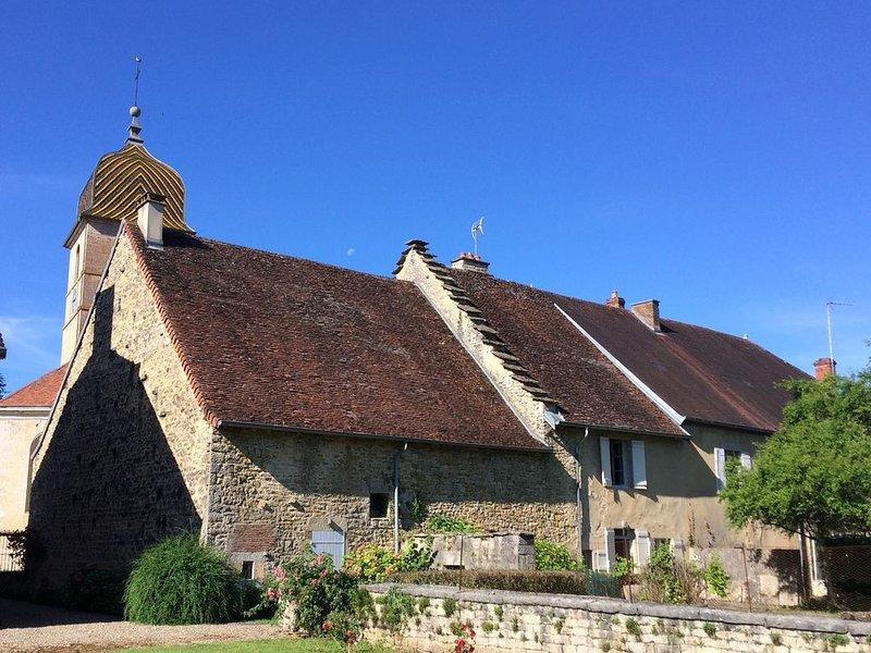 L'ancienne poste, une maison de caractère au coeur du vignoble jurassien, location de vacances à Baume-les-Messieurs