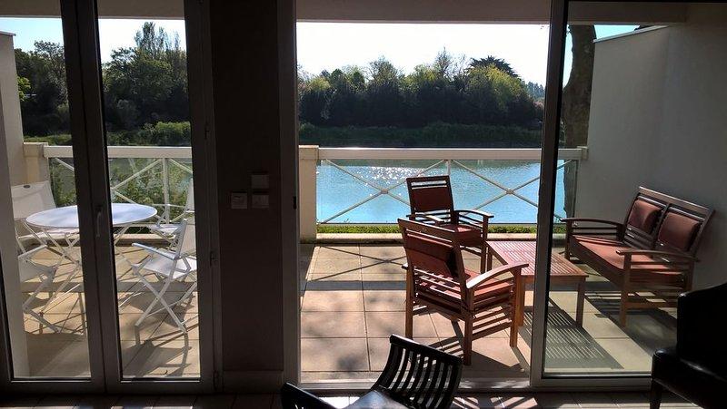 Très bel appartement 76 m², grande terrasse vue sur plan d'eau, en plein centre, alquiler vacacional en La Rochelle