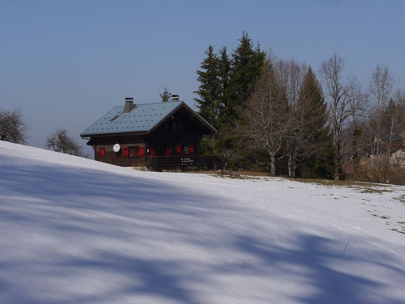 Chalet en Chablais (Haute-Savoie), holiday rental in Habere-Poche