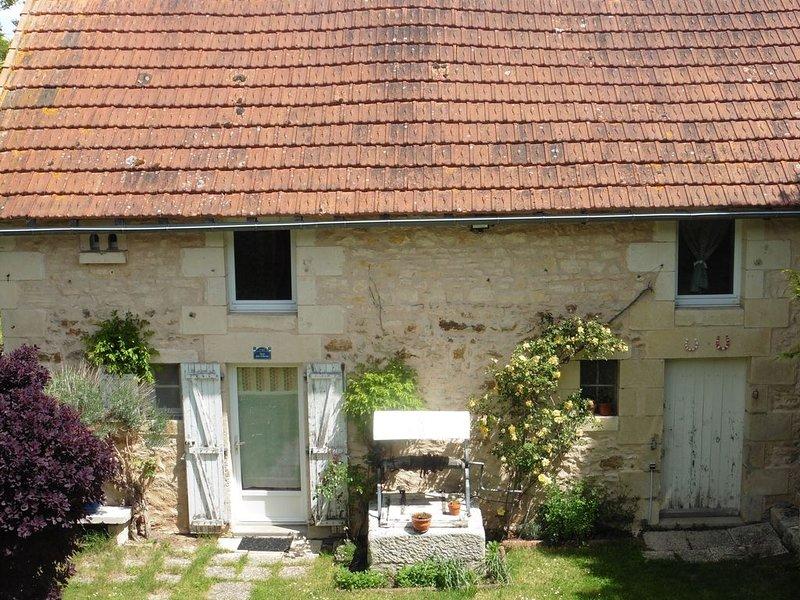 JOLIE MAISON EN PIERRE RÉNOVÉE, vacation rental in Chauvigny
