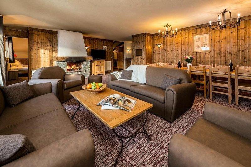 Chalet Altitude - Arc 2000***** - 6 Pièces 10/12 Personnes, holiday rental in Les Arcs