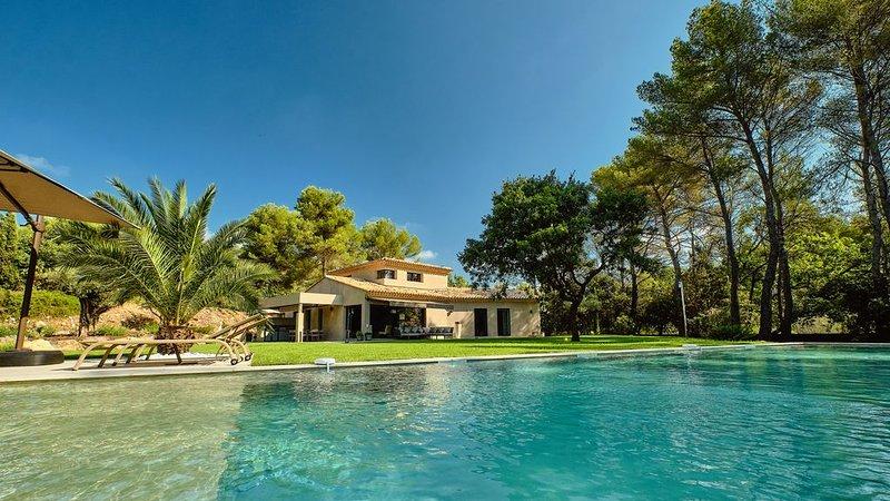 L'Opio Villa , Villa de luxe, French Rivieira, holiday rental in Opio