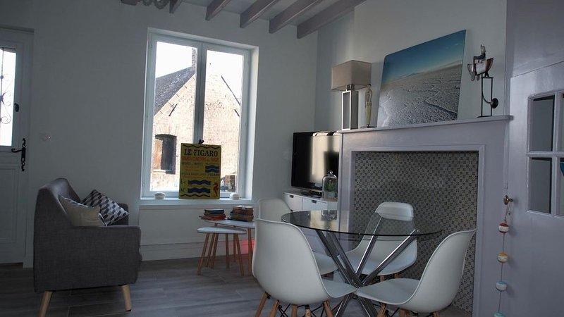 CALME ET AUTHENTICITE AU COEUR DU COURTGAIN, holiday rental in Estreboeuf
