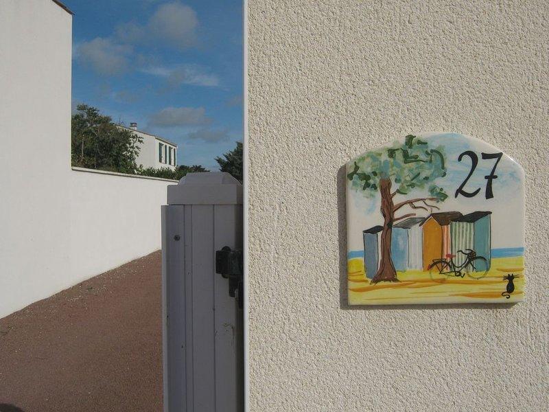 Maison Oléronaise à 600m de la plage., location de vacances à Saint-Pierre-d'Oléron