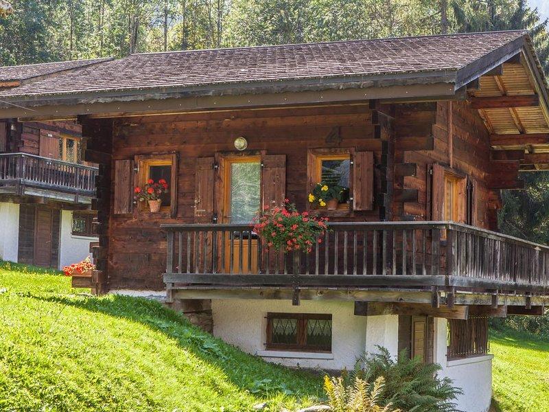 Charmant petit Chalet pour 4/5 Personnes dans la vallée de Chamonix – semesterbostad i Les Houches