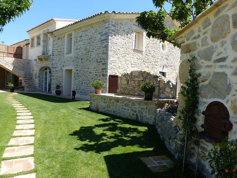 Ultra reposantes nôtres chambres d'hôtes 'gîtes' Le Mas de France, holiday rental in Brouzet-les-Quissac
