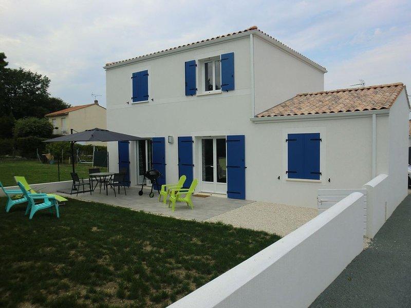 Maison moderne, très calme, à deux pas de la plage, casa vacanza a Meschers-sur-Gironde