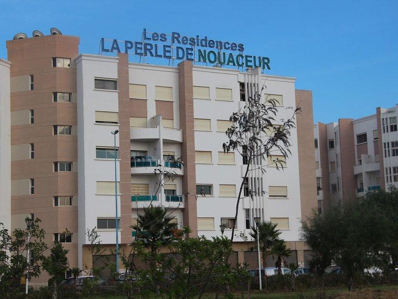 Appartement à coté de l'aéroport, alquiler de vacaciones en Nouaceur