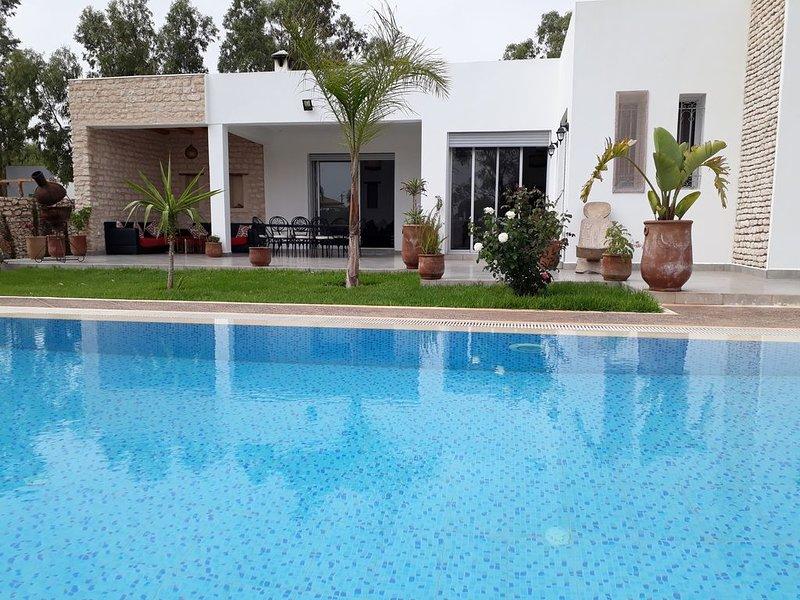 Magnifique villa  Sabrine, aluguéis de temporada em Sidi Kaouki