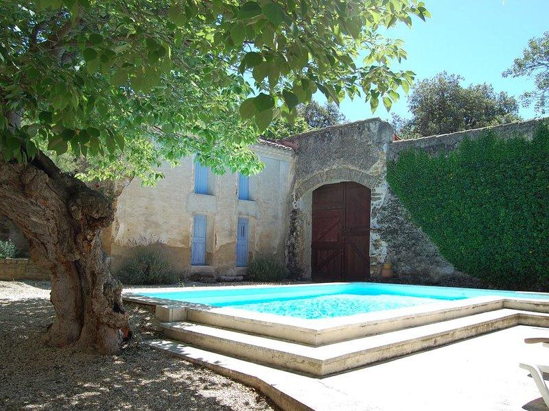 Le Rocan Roux - Maison de caractère au pied du Mont Ventoux, holiday rental in Aubignan