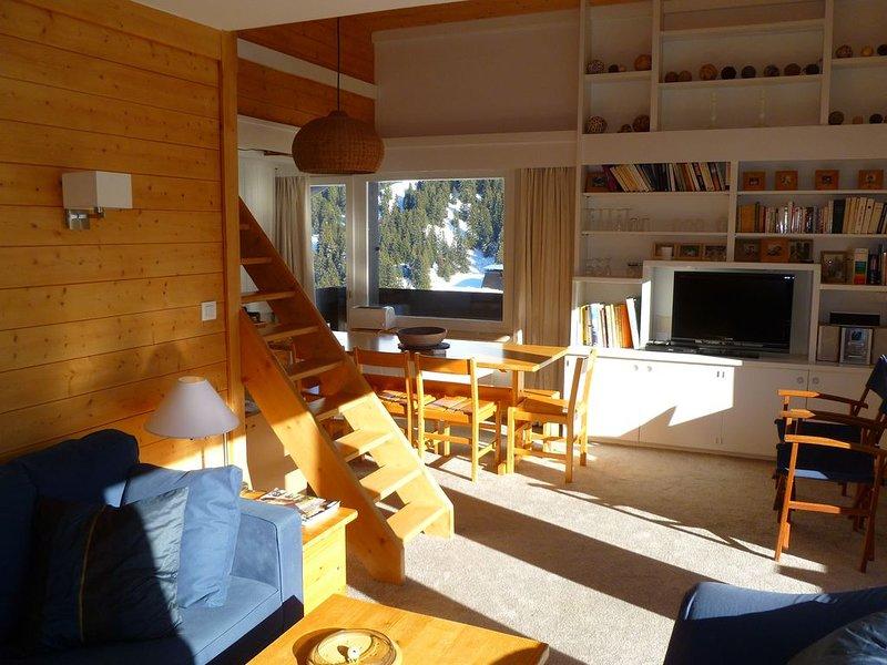Appartement 4 chambres au pieds des pistes de Mottaret, vacation rental in Meribel Mottaret