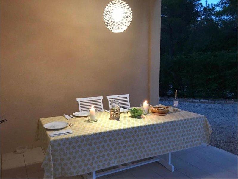 Villa provençale avec piscine et vue, holiday rental in Tourtour
