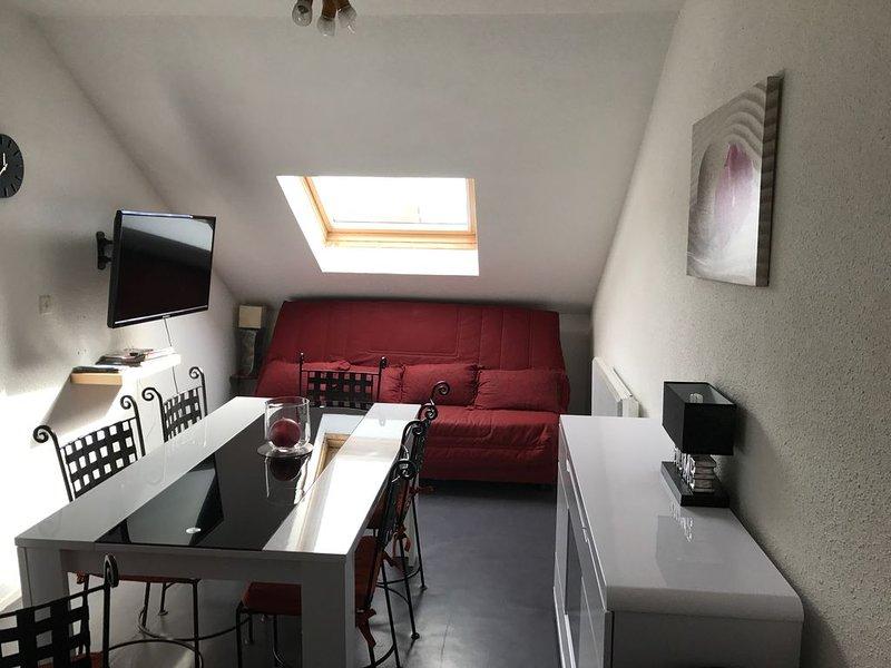F2 cabine duplex, pied piste, casa vacanza a Bolquere
