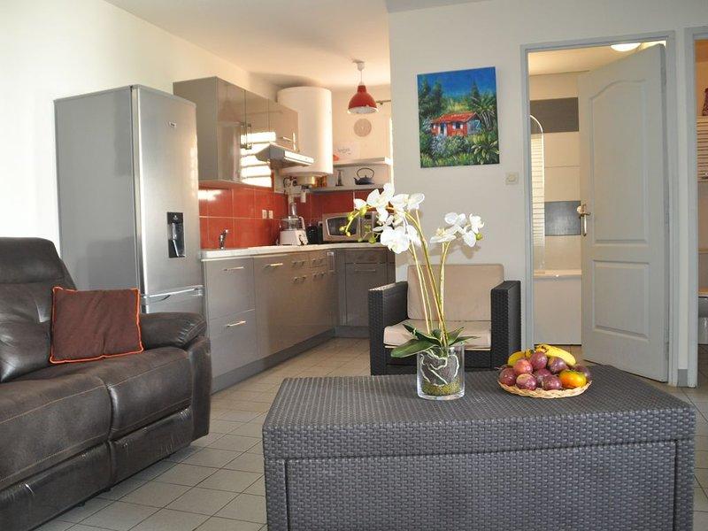Appartement la Saline les bains, holiday rental in La Saline les Bains