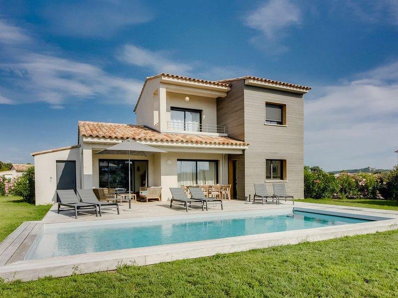 Villa moderne 4 ETOILES avec piscine, Saint Cyprien Porto-Vecchio, location de vacances à Lecci